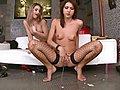 Wet lesbian action