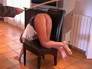 Natasha spanking