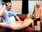 Twink spanked by daddy