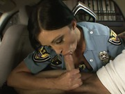 Sex hungry police officer
