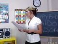 Nikki Sexx big-tits-at-school video 7