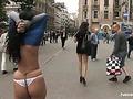 Hot Brunette public-disgrace video 30