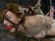 Kendra James hog-tied trailer 32
