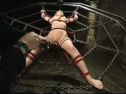 Megan Joy water-bondage part 34