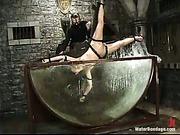 Nicolette water-bondage video 3