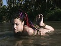 Mallory Knots water-bondage movie 4