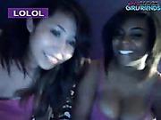 Webcam girls show their tits