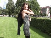 Flirty Samantha Rise Posing