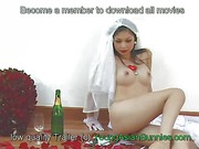 Asian bride Lin with perfect tits and hairy pussy