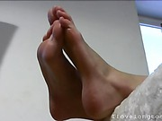 Sexy feet of Karolina D
