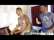 Straight guy takes dildo in the ass