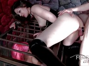 Sex starved domina gets slammed
