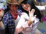 Cowboys and cowgirls go party