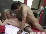 Blonde from Red Light District gets nailed
