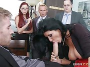 Romi Rain Big Tits At Work clip 17
