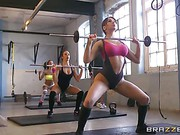 Aleska Diamond Big Tits In Sports clip 13