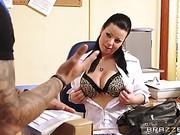 Klaudia Hot Big Tits At Work movie 43