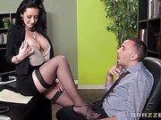 Jayden Jaymes Big Tits At Work clip 41