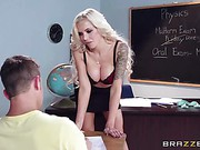 Nina Elle Big Tits At School trailer 13