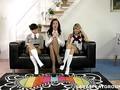 Schoolgirls first lesbian sex