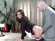 Stephani Moretti Big Tits At Work part 30