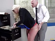 Julie Cash Big Tits At Work trailer 7