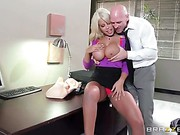 Bridgette B Big Tits At Work trailer 40