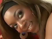 Ebony goddess fucks 2