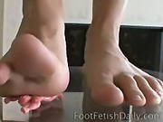 Misty Anderson Foot Fetish Daily video 1