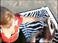 Geile Blonde am Baggersee gefickt